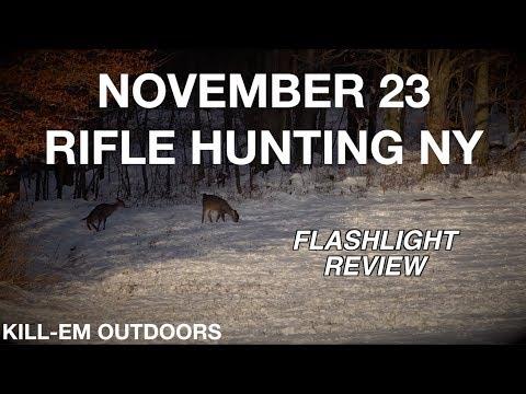Rifle Hunting NY November 23