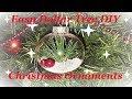 5 Dollar Tree Christmas Ornament DIY Ideas
