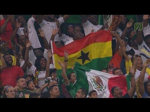 MEXICO VS GHANA 1 -  0 Amistoso 28 JUN 2017