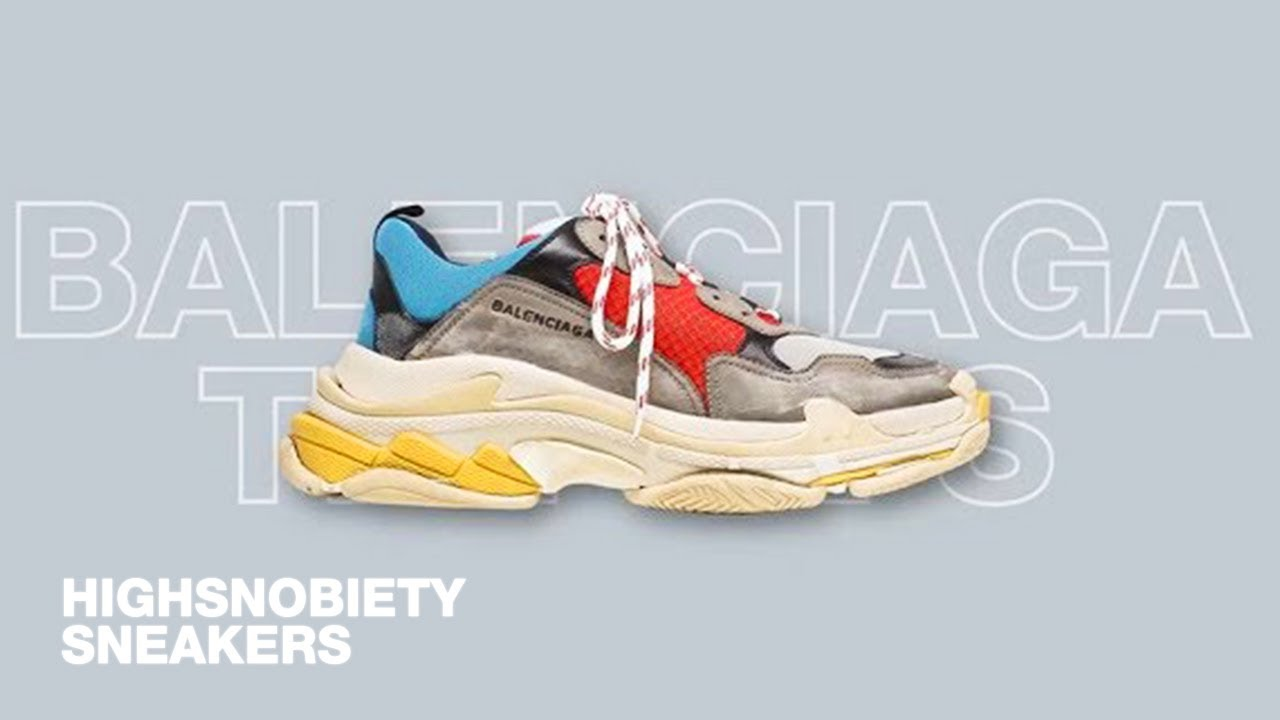 Trend report: why the 'ugly sneaker' is here to stay