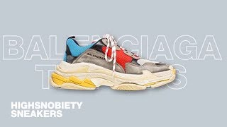 How Did Chunky Sneakers Become The Biggest Footwear Trend of 2017?