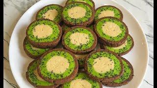 """Чудесное Печенье """"КИВИ"""" Поразит Вас Своим Видом и Вкусном!!! / Cookies """"Kiwi"""""""