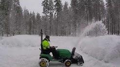 Murray-Husqvarna lumilinko - snowblower