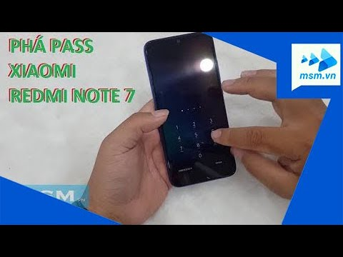 Phá pass Xiaomi Redmi Note 7 / Factory reset xiaomi redmi note 7