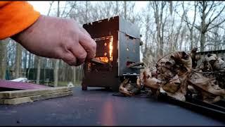 "Firebox Stove 5"" Titąnium Gen2"