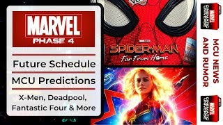 Marvel Studios MCU Phase 4 Films, Release Predictions & More