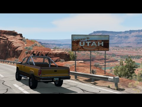 BeamNG.drive: WINTER UPDATE! REMASTERED UTAH AND MORE!!!