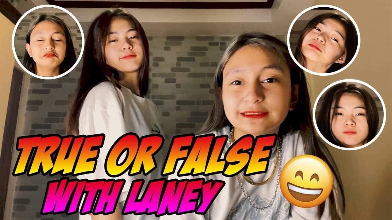 TRUE OR FALSE WITH LANEY ( LORELAINE SANOSA ) | PRINCESS THEA