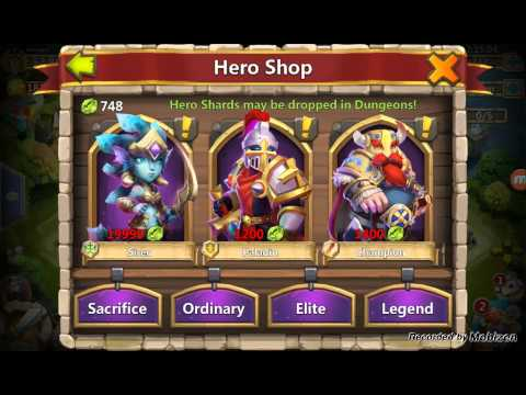 Castle Clash - My Heroes Altar!