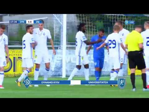 Динамо Киев - Университатя Крайова 2:0 видео