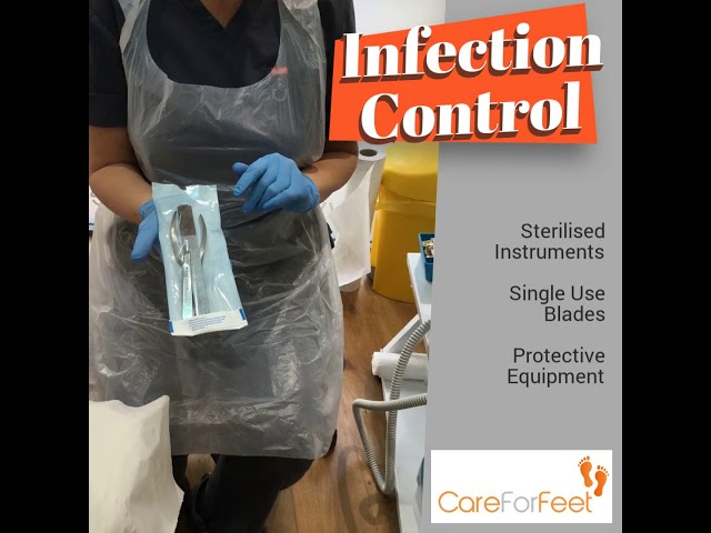 Infection Control at Care For Feet