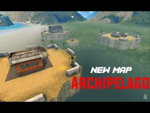"Playing in new map "" Archipelago "" MM battle | تجربة الخريطة الجديده"