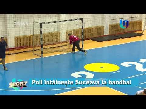 TeleU: Poli întâlnește Suceava la handbal