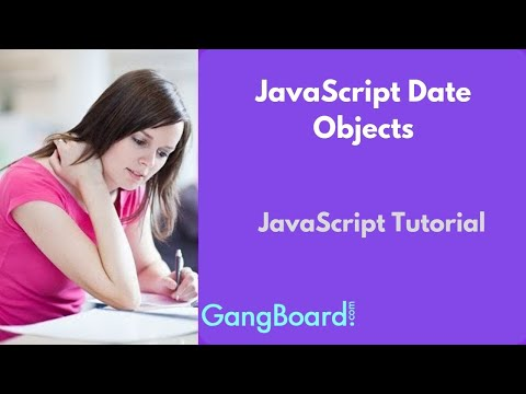 JavaScript Date Objects | JavaScript Tutorial For Beginners thumbnail