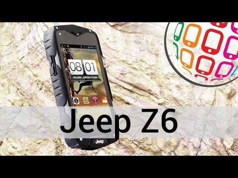 Jeep Z6 - обзор противоударного смартфона