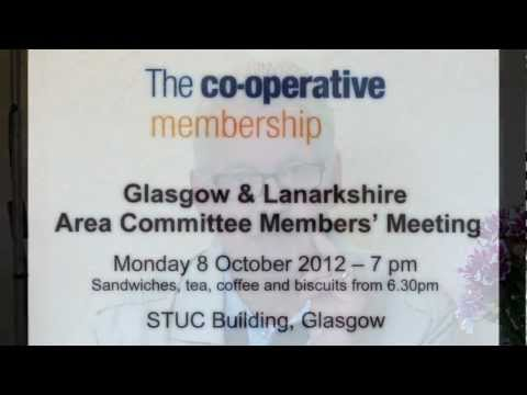 The Co-operative Group's Committee Meeting About ATOS TUC Building Glasgow