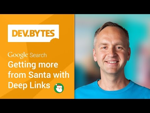 Getting more from Santa with deep links