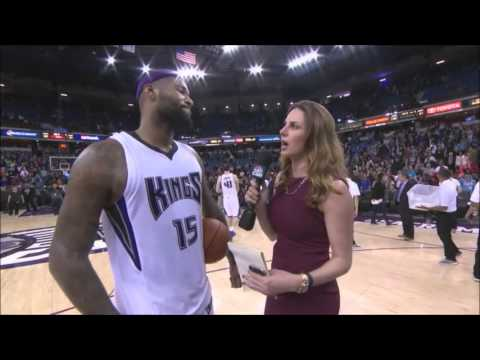 Kings vs. Pacers - Boogie's Post Game Interview