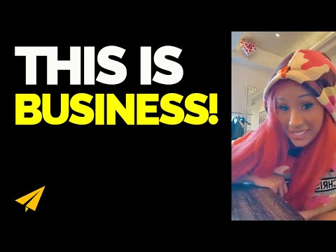 This Is HOW BUSINESS Is! - Cardi B Live Motivation
