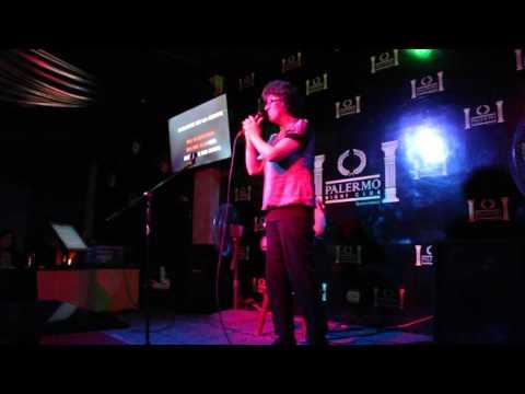 MELBA CORTES canta en JUEVES DE KARAOKE en PALERMO NIGHT CLUB