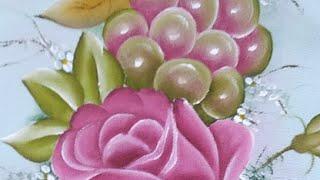 Rosas Com Uvas Il