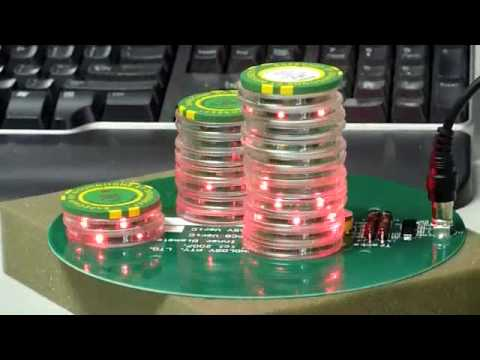 Rfid enabled gambling chips play live casino poker