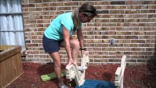 Easy Assembly Of The Step2 Sit & Play Picnic Table With Umbrella
