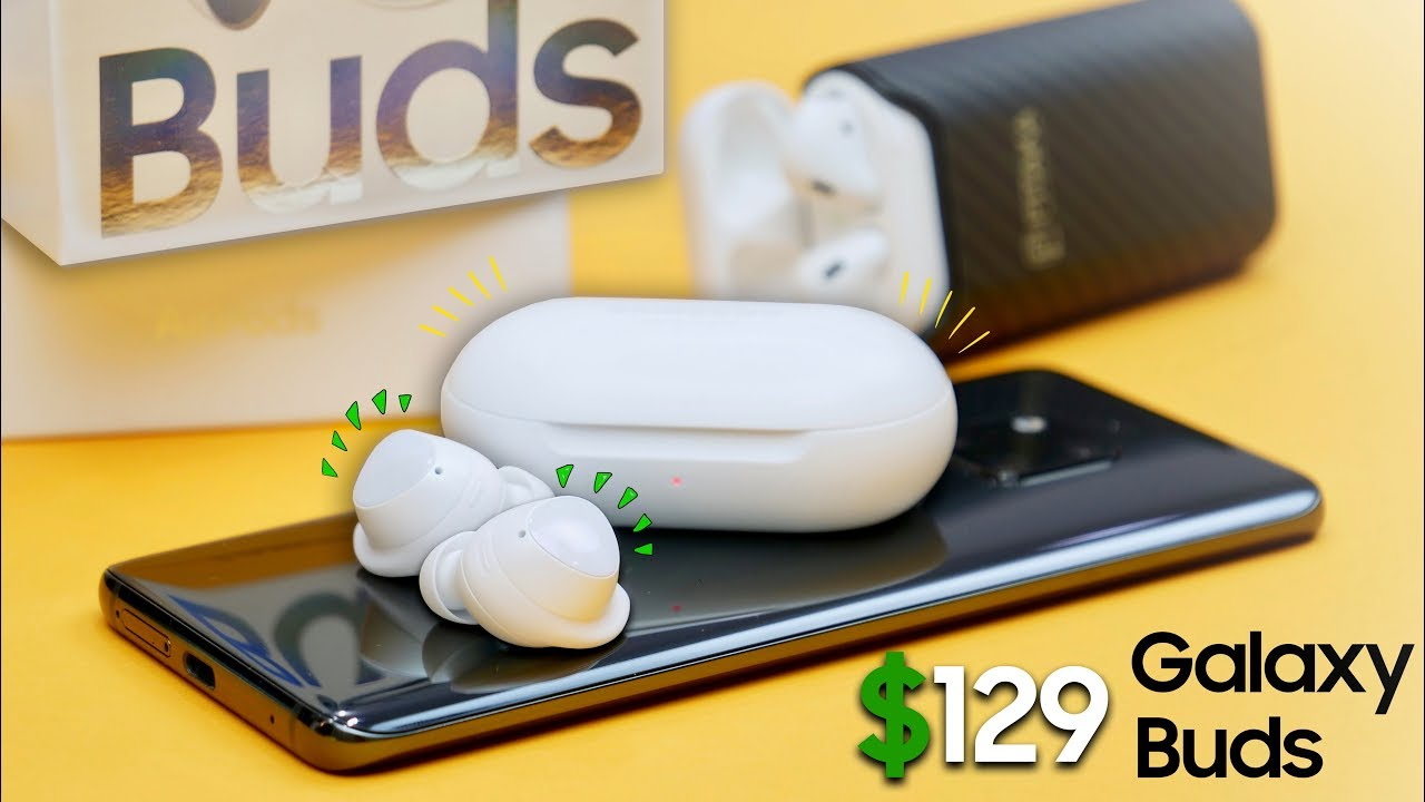 Samsung Galaxy Knospen vs Apple AirPods! Beeindruckend..  + video
