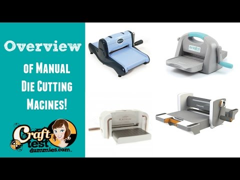 Comparison of Manual Die Cutting Machines