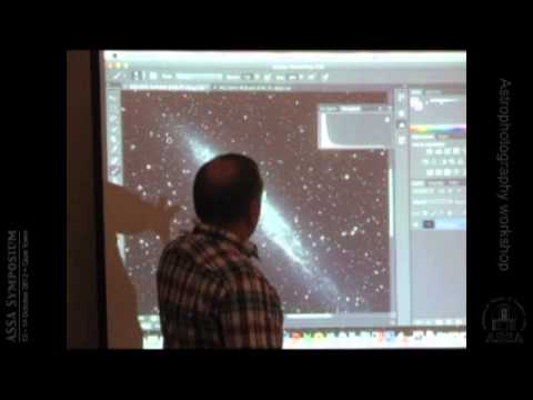 Astrophotography workshop led by Dale Liebenberg