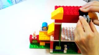 Большая Ферма Lego Duplo - самоделки 1