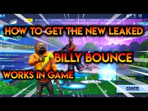 """HOW TO GET THE """"Billy Bounce"""" EMOTE FOR FREE [WORKS IN GAME]"""