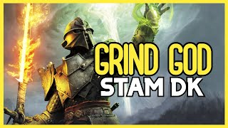 ESO Grind God! Stamina Dragonknight Solo Build - DOUBLE DRAGON - Flames Of Ambition DLC