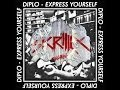 Diplo Express Yourself Vs Skrillex Bangarang Vs Skrillex Reptile Mashup mp3