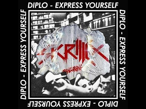 Diplo - Express yourself vs Skrillex - Bangarang vs Skrillex - Reptile (Mashup)
