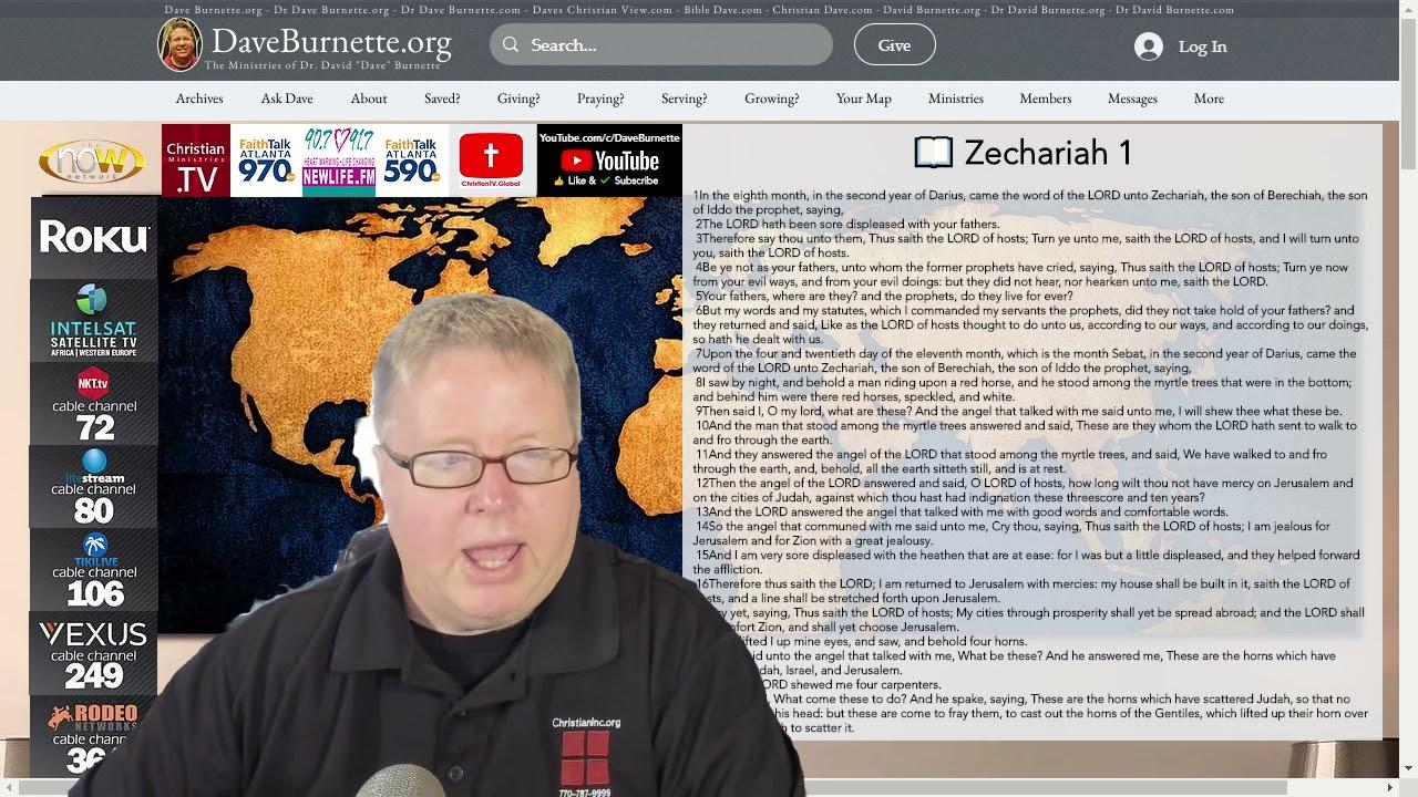 Zechariah 1 ✒️ Discovering God's Plan for Your Life