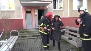 Пожар в квартире на Голодеда. Спасено 7 человек, эвакуировано — 4