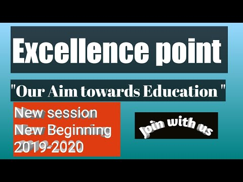 Strategy for studies at Excellence point