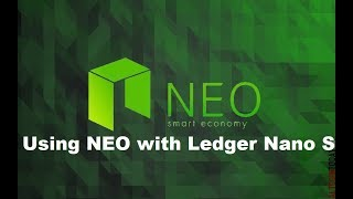 Using NEO with Ledger Nano S