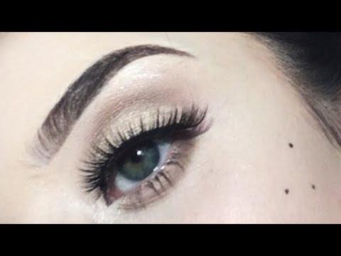 a9f14ff9e8b Ardell Faux Mink #811 - Eyelash Try On; $6.99 Lashes - April 2018 |  @kati_baddi - YouTube
