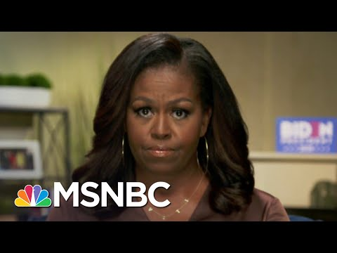 Michelle Obama Issues Blistering Takedown Of Trump In DNC Speech | The 11th Hour | MSNBC