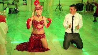Восточная танцовщица и балет на свадьбу 13.09.15 arthall.od.ua
