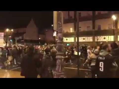 Broad Street in Philadelphia After Super Bowl