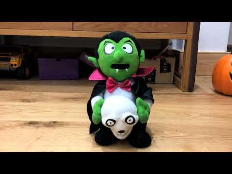Singing Halloween Toy Vampire and Skull