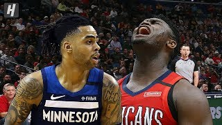 Gambar cover Minnesota Timberwolves vs New Orleans Pelicans - Full Game Highlights | March 3, 2020 NBA Season