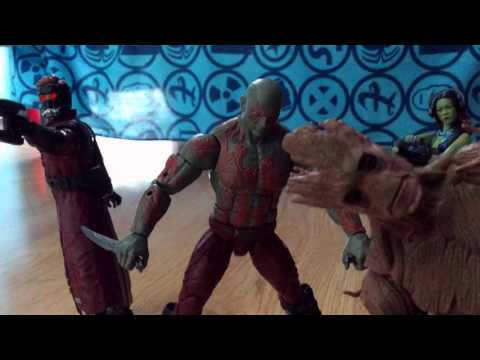 Guardians Of The Galaxy Stop Motion 2016