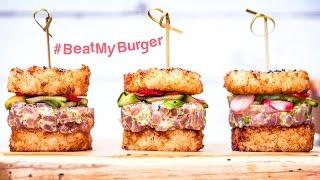 The Sushi Burger   #BeatMyBurger ep.2
