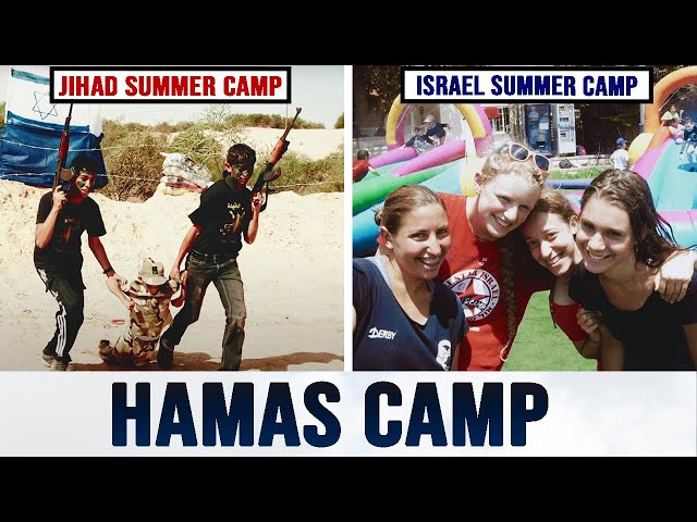 Summer Camp with Hamas (EYE-OPENING PHOTOS)