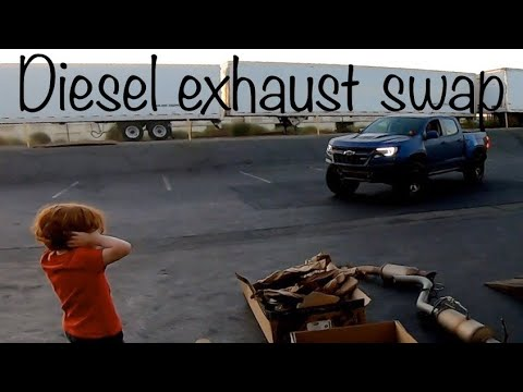 Chevy Colorado Zr2 Diesel Exhaust Delete And Tune Youtube