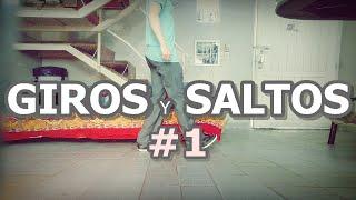 GIROS Y SALTOS - ¿Cómo hacer giros en salto en el Shuffle?